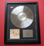 MADONNA - Bedtime Stories CD / PLATINUM PRESENTATION DISC